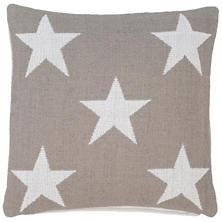 Star Platinum/White Indoor/Outdoor Pillow