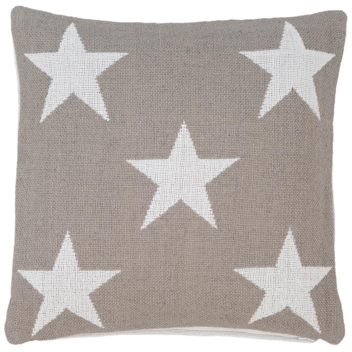 Star Platinum/White Indoor/Outdoor Pillow