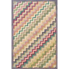 Steps Wool Micro Hooked Rug