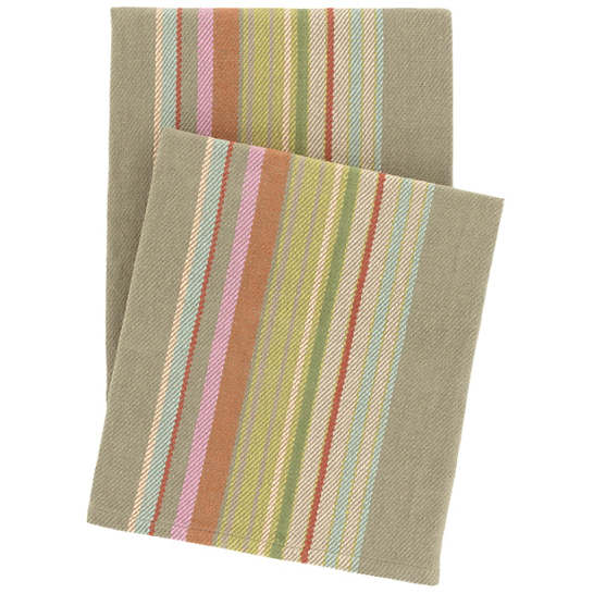 Stone Soup Woven Cotton Throw