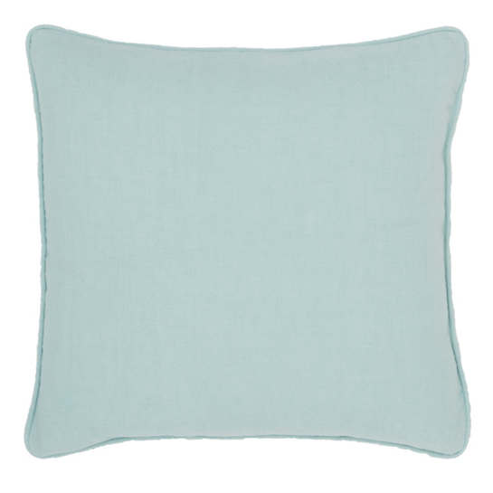 Stone Washed Linen Sky Decorative Pillow