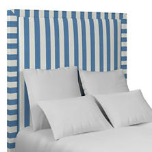 Alex French Blue Stonington Headboard