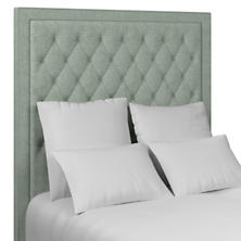 Greylock Light Blue Stonington Tufted Headboard