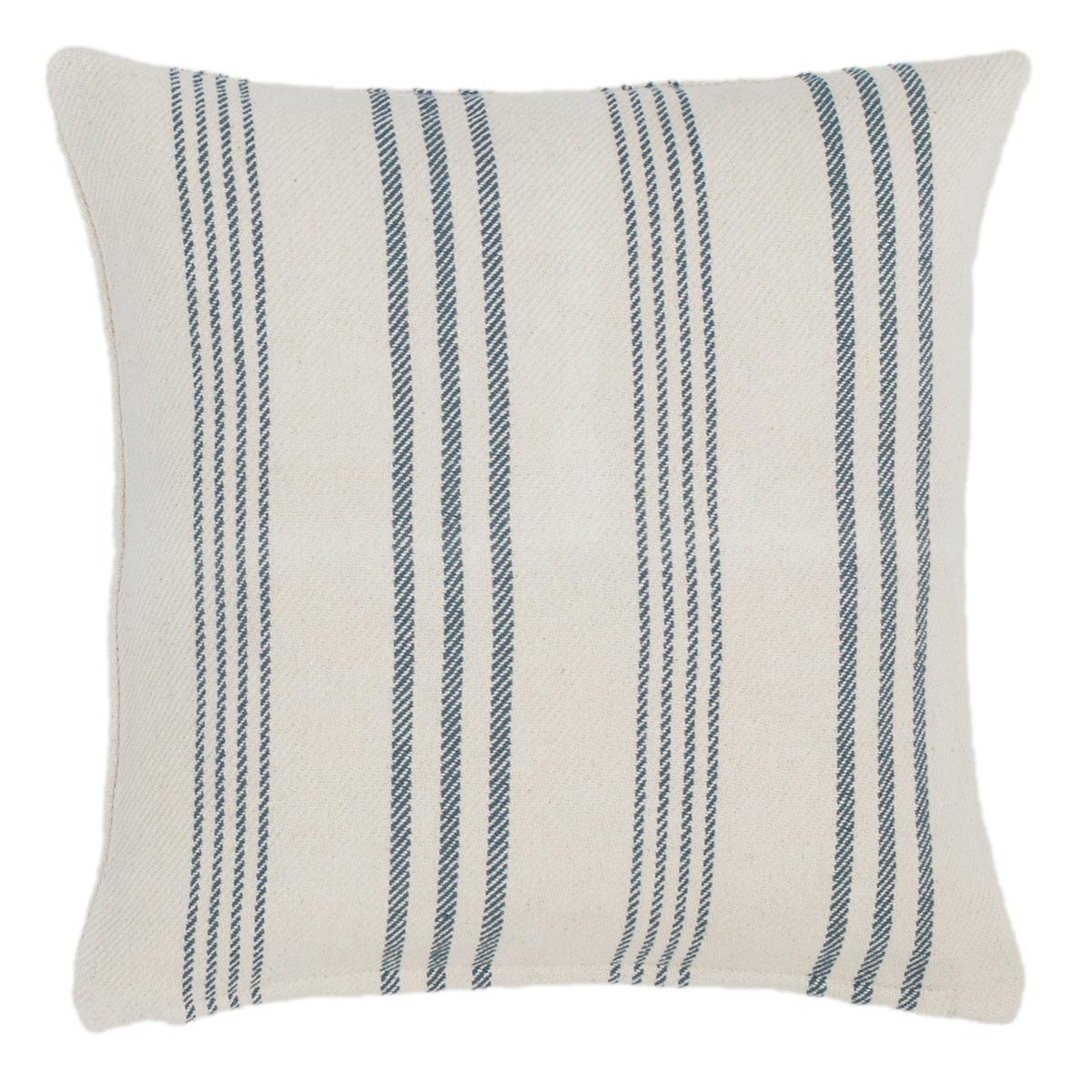 Swedish Stripe Woven Cotton Decorative Pillow