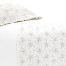Sweet Roses Grey Sheet Set