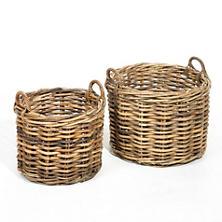 Tamarin Round Basket/Set Of 2