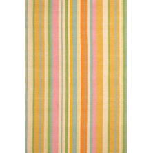 Tangerine Dream Woven Cotton Rug