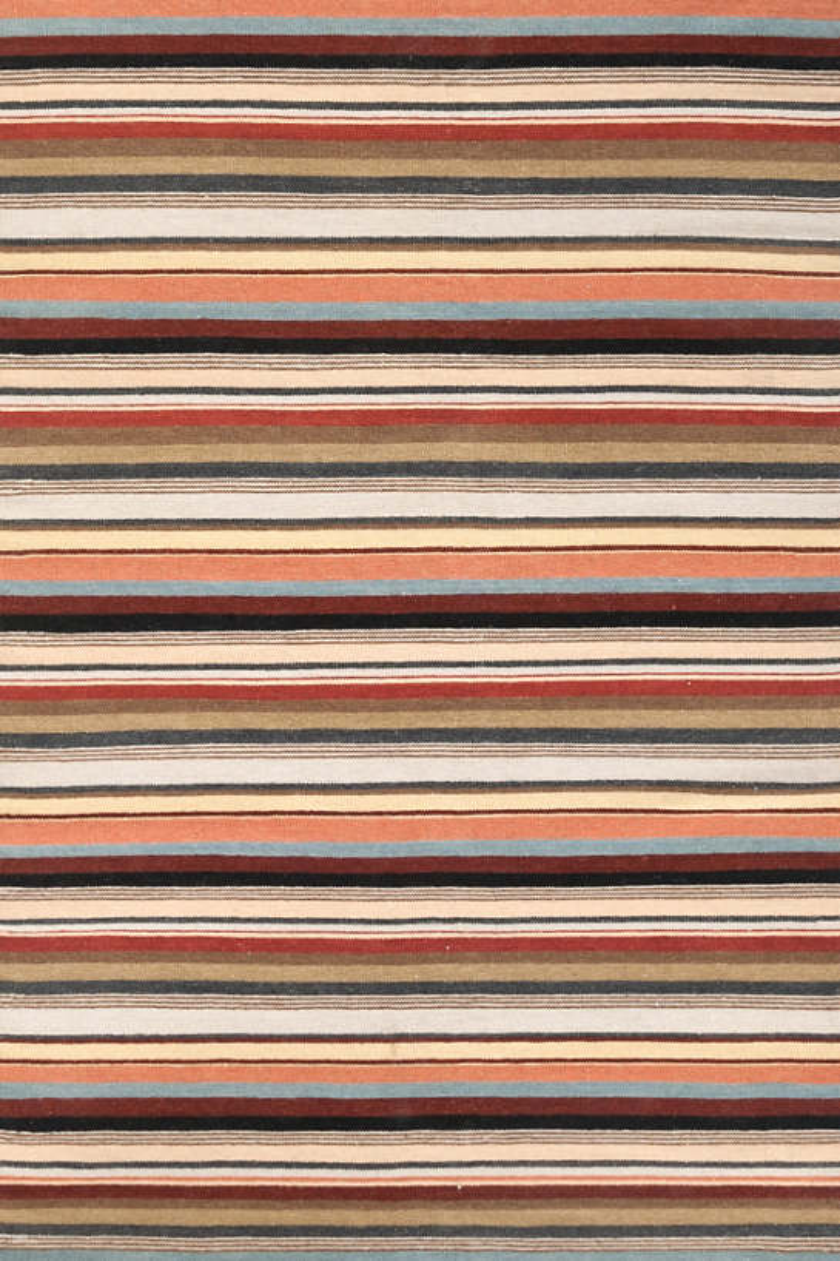 Templo Stripe Wool Woven Rug