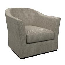 Pebble Grey Thunderbird Swivel Chair