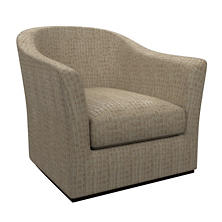 Pebble Sand Thunderbird Swivel Chair