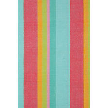 Tiki Stripe Woven Cotton Rug