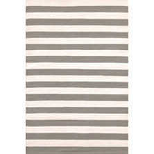Trimaran Stripe Fieldstone/Ivory Indoor/Outdoor Rug
