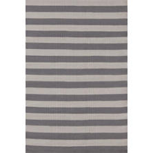 Trimaran Stripe Graphite/Fieldstone Indoor/Outdoor Rug