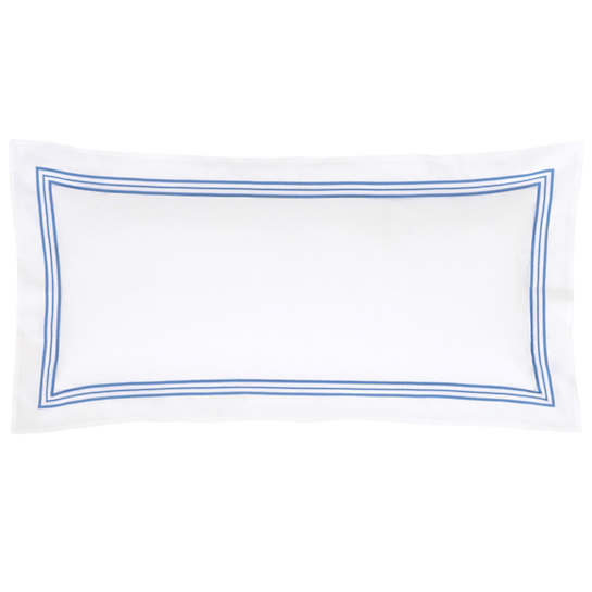 Trio French Blue Decorative Pillow