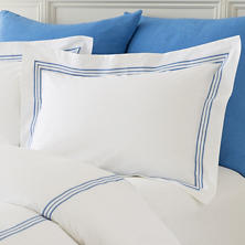 Trio French Blue Sham