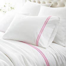 Trio Fuchsia Pillowcases (Pair)
