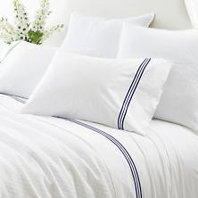 Trio Indigo Pillowcases (Pair)