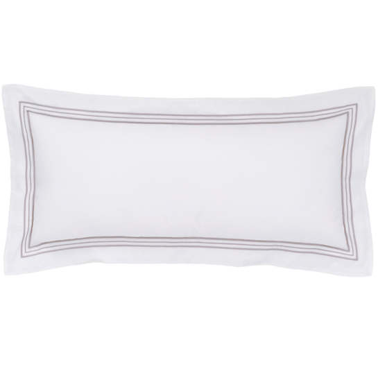 Trio Pearl Grey Decorative Pillow