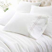 Trio Pearl Grey Pillowcases (Pair)