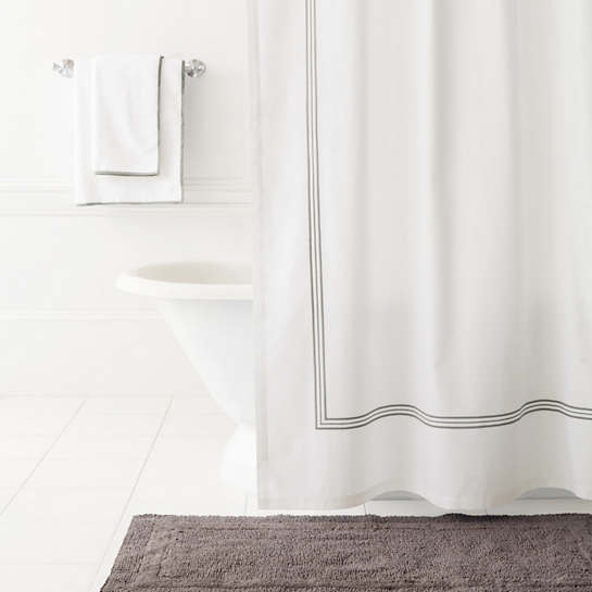 Trio Shale Shower Curtain