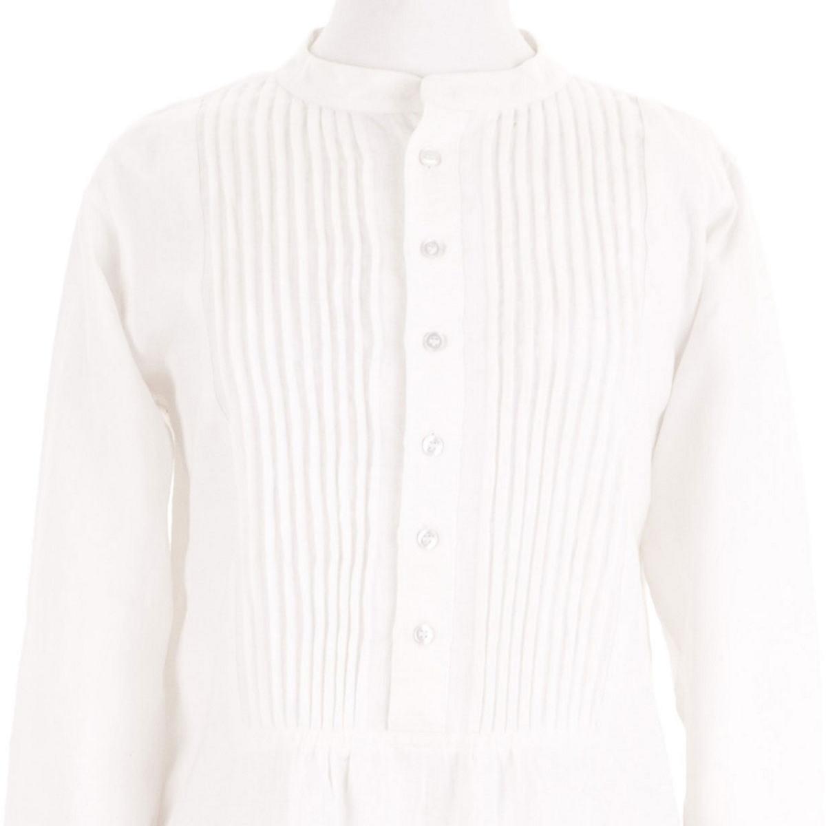 Tunic White Linen
