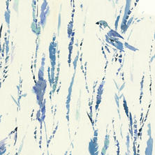 Tweet Blue Fabric