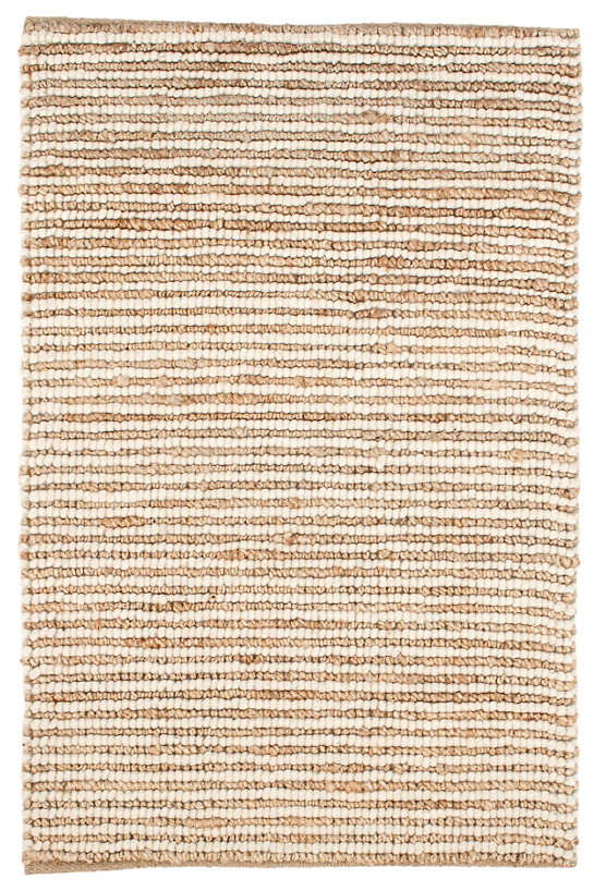 Twiggy natural woven wool jute rug dash albert for Dash and albert wool rugs