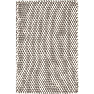 Elegant Two Tone Rope Fieldstone/Ivory Indoor/Outdoor Rug