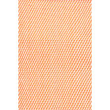 Two-Tone Rope Tangerine/White Indoor/Outdoor Rug