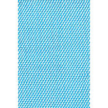 Two-Tone Rope Turquoise/White Indoor/Outdoor Rug