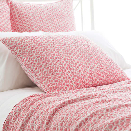 Tyler Coral Quilted Sham