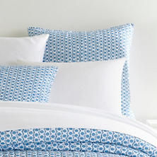 Tyler French Blue Quilted Sham