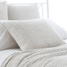 Tyler Pearl Grey Quilted Sham