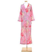 Ume Pink Shirt Tail Pajama