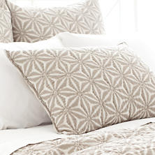 Varkala Neutral Quilted Sham