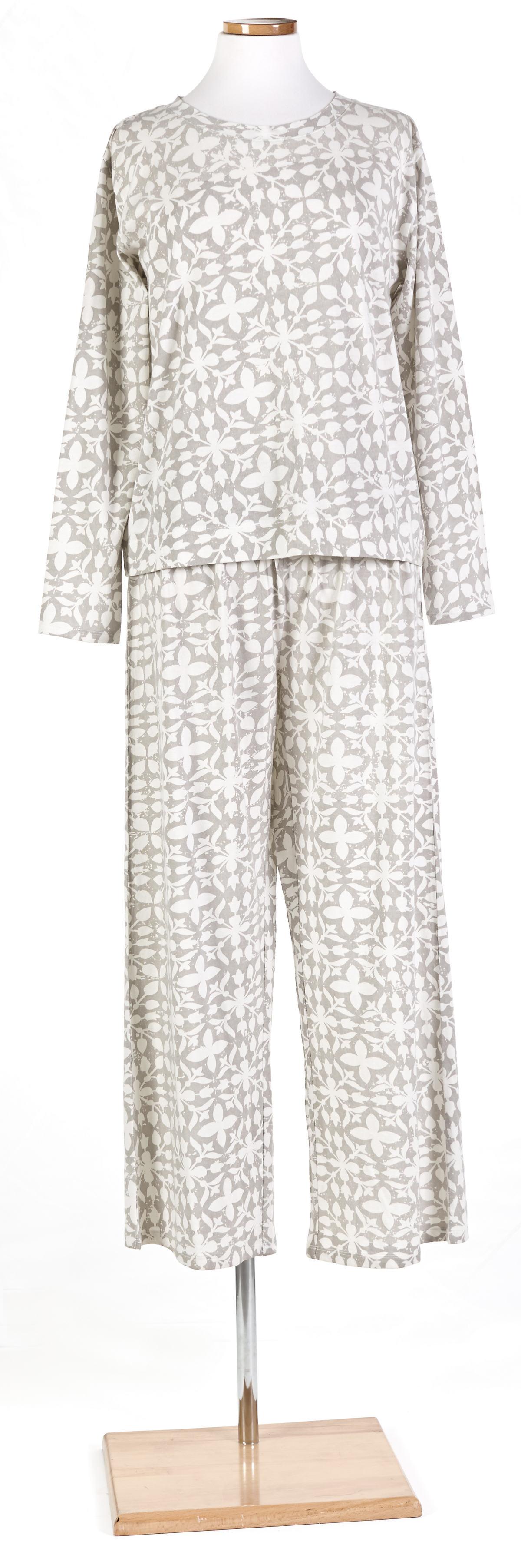 Veena Grey Crew Neck Pajama