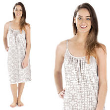 Veena Grey Tank Nightdress