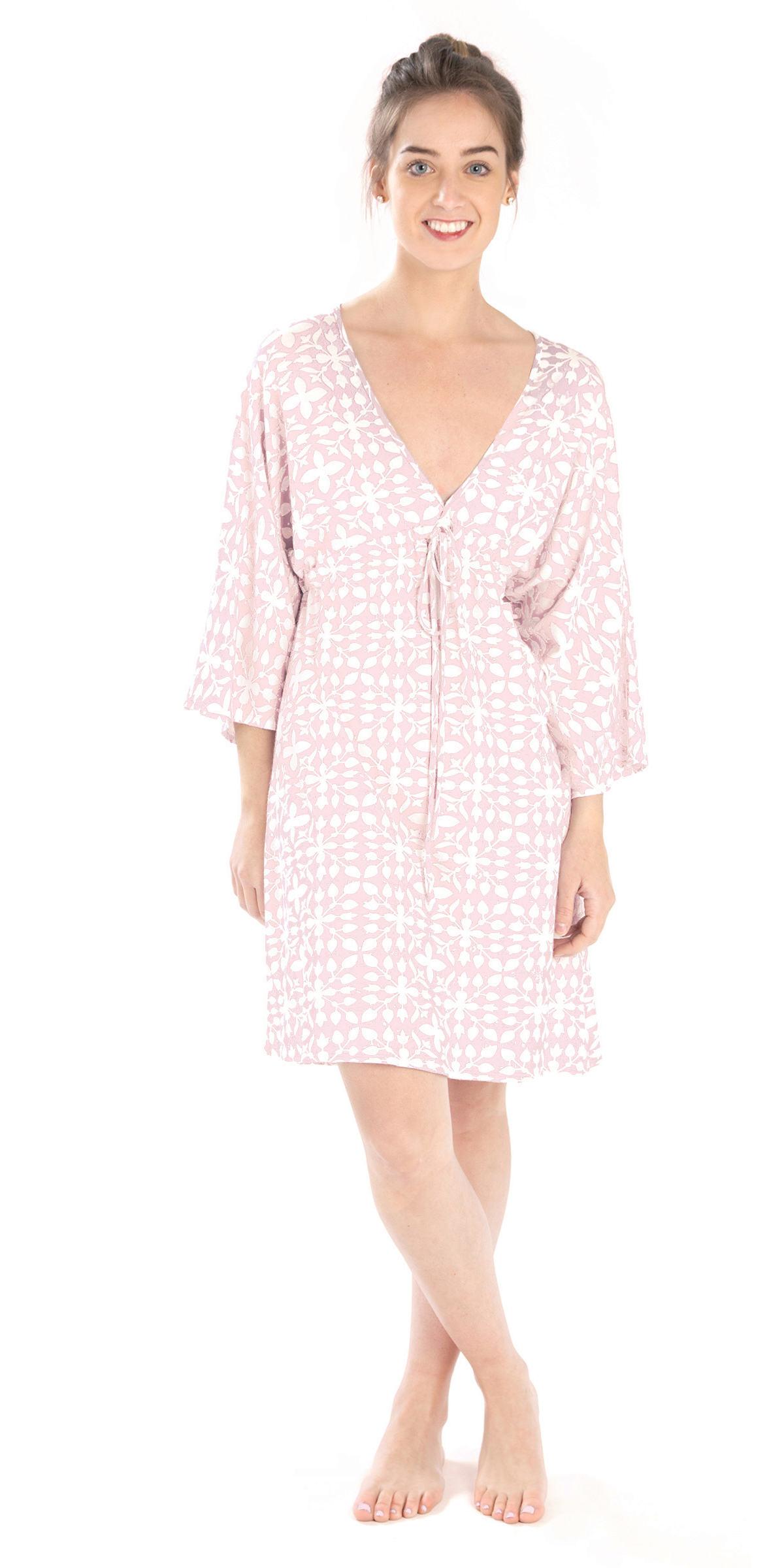 Veena Pink Nightdress