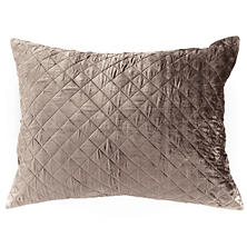 Velvet Diamond Java Continental Pillow