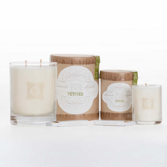Linnea's Lights Vetiver Candle