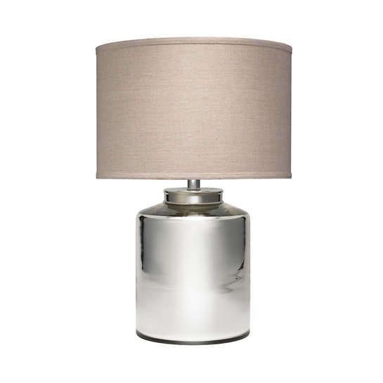 Vigo Silver Table Lamp
