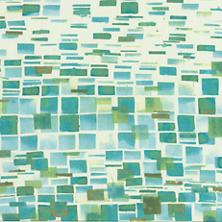 Villa Tile Green Fabric
