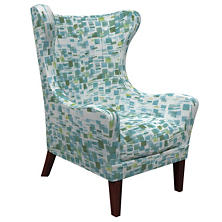 Villa Tile Green Mirage Tobacco Chair