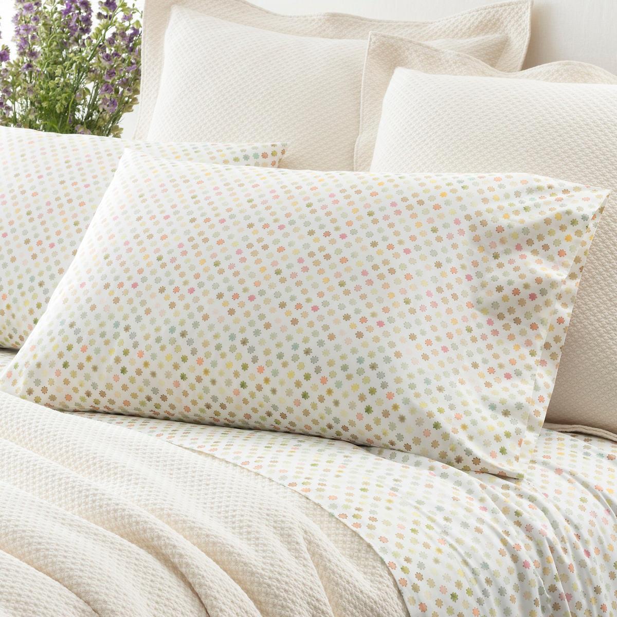 Watercolor Dots Pillowcases (Pair)