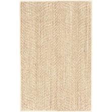 Wave Sand Woven Sisal Rug