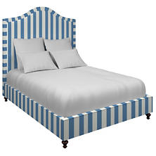 Alex French Blue Westport Bed