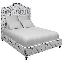 Brushstroke White Westport Bed