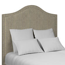 Adams Ticking Navy Westport Headboard