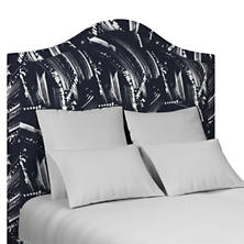 Brushstroke Indigo Westport Headboard