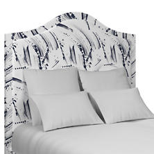 Brushstroke White Westport Headboard